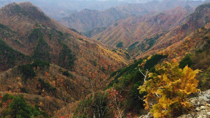 【両神山】八丁峠〜西岳〜東岳〜両神山〜日向大谷口