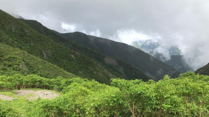 【南アルプス縦走2】赤石避難小屋〜荒川小屋