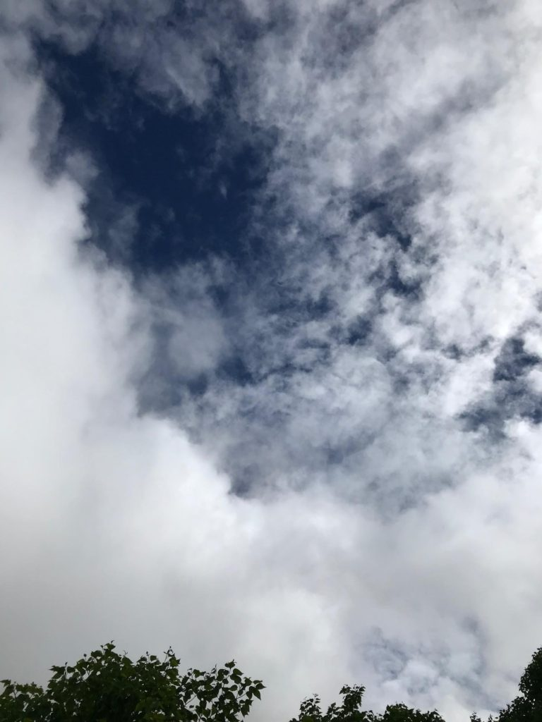 青空が見えた!