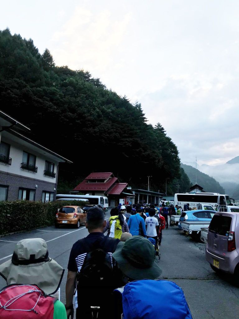 仙流荘前バス停