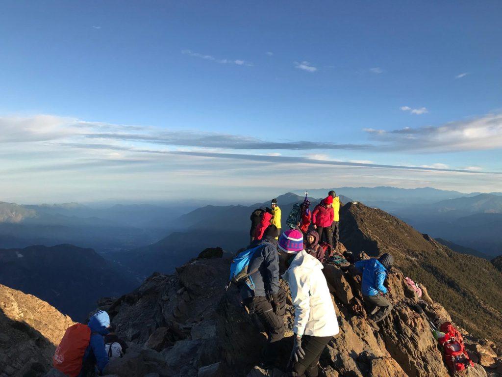 台湾 玉山山頂