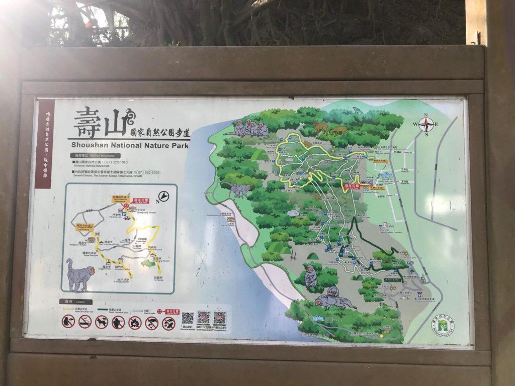 壽山(柴山)全体図