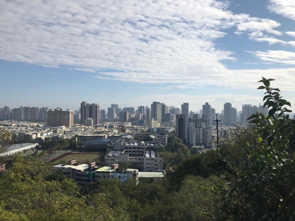 柴山から見る高雄の街