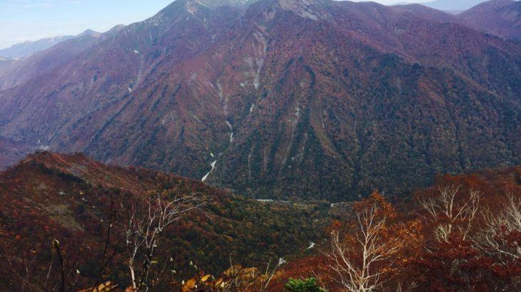 【秋山】谷川岳 紅葉の日帰り登山