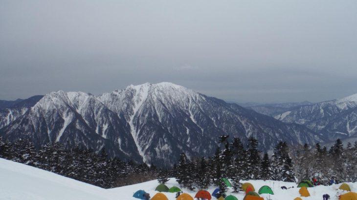 【2017冬山】西穂高山荘