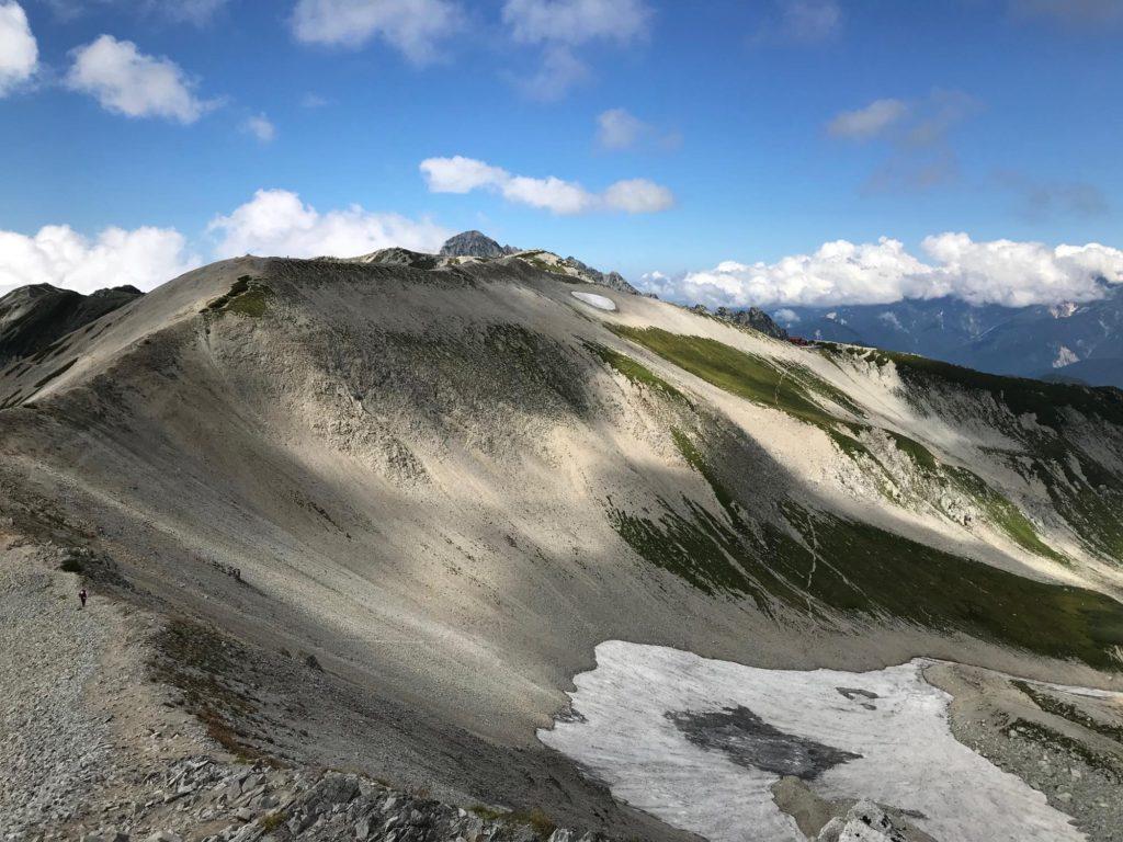 立山から別山へ