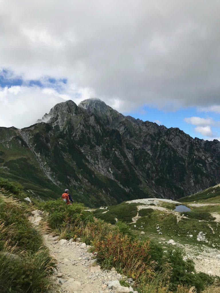 別山から剣山荘