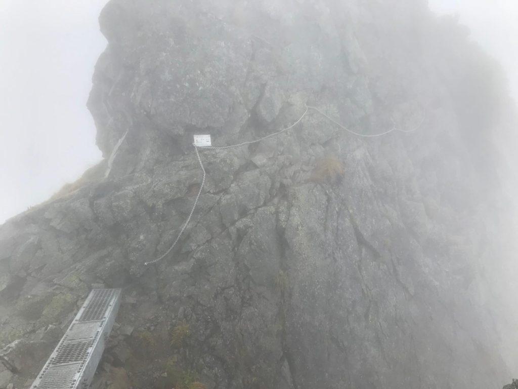 剱岳 前剱の門
