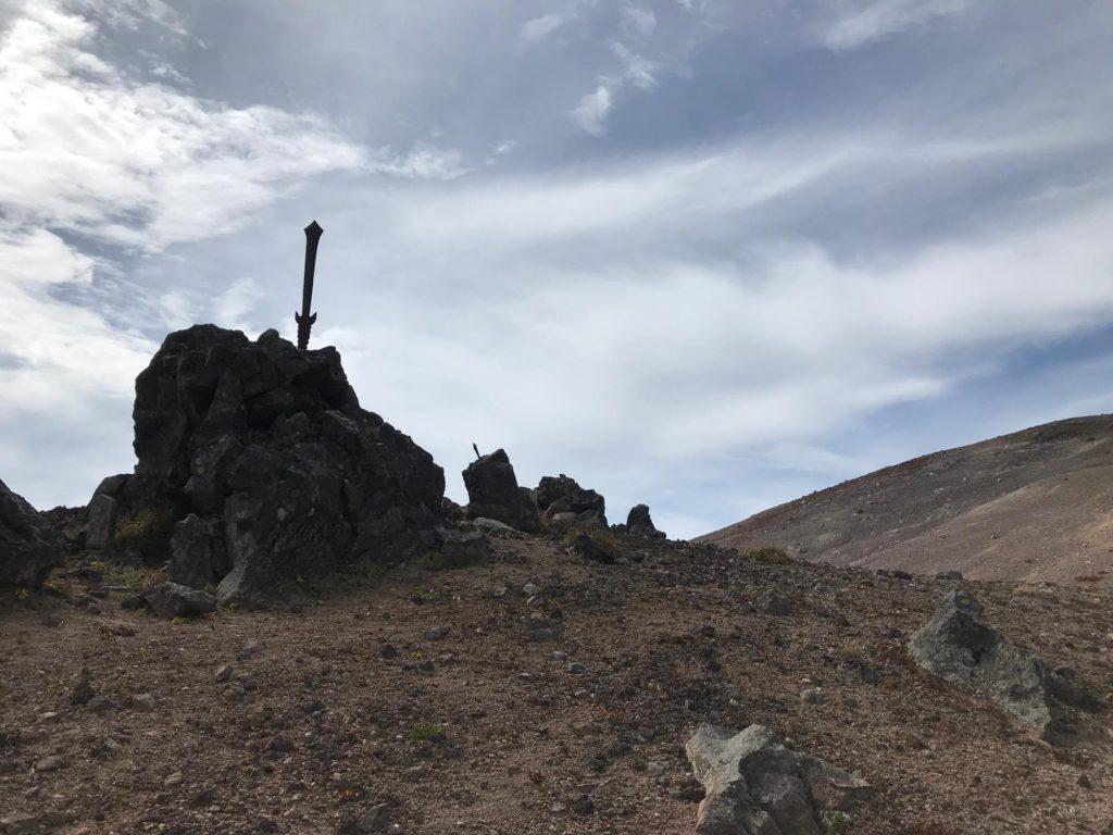 岩手山 お鉢めぐり