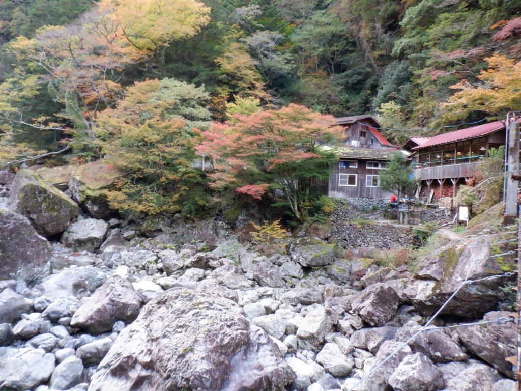 大杉谷・桃の木山の家