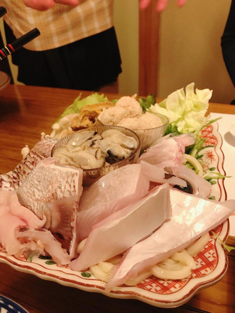 指宿で夕ご飯