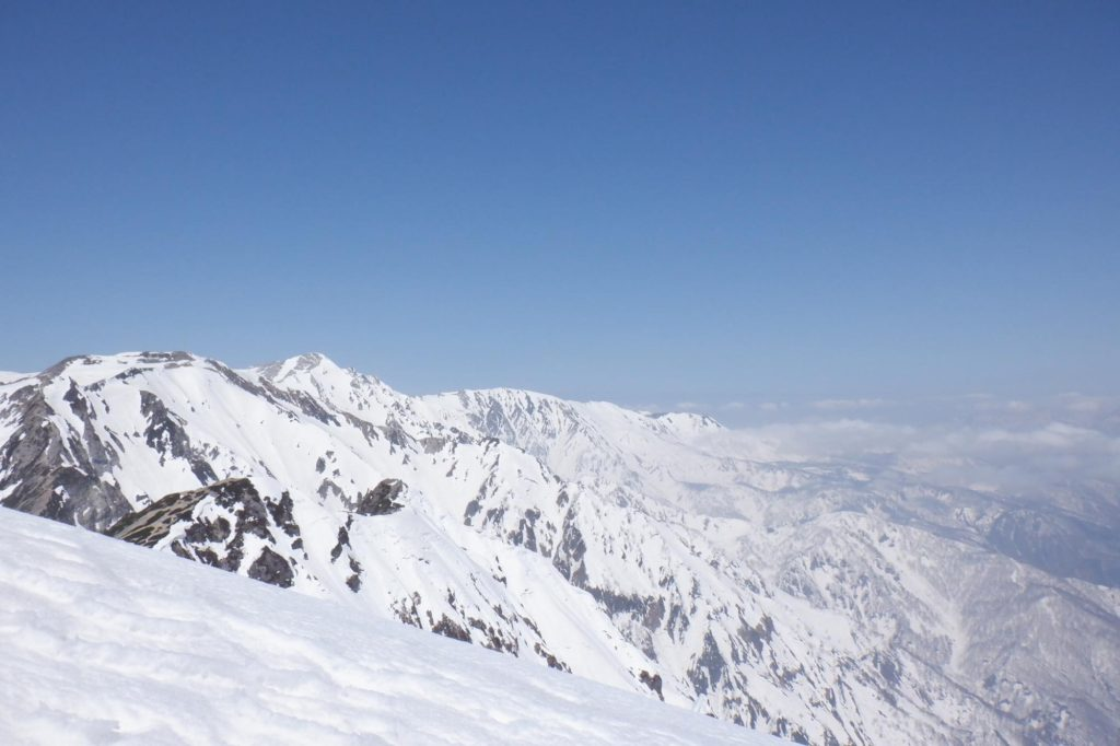 雪山登山 唐松岳