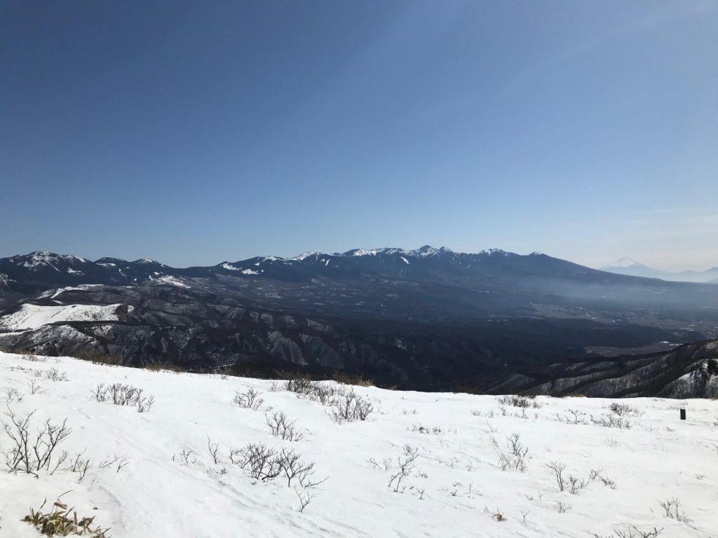霧ヶ峰 車山高原 スノーシュー