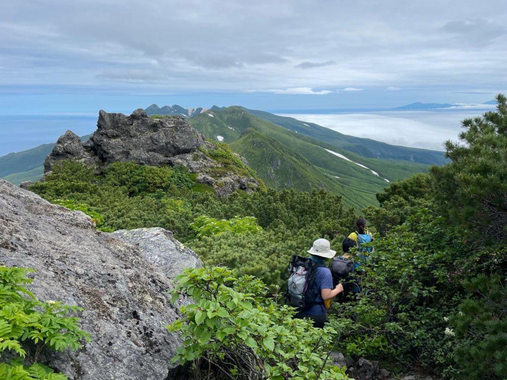 羅臼岳 登山