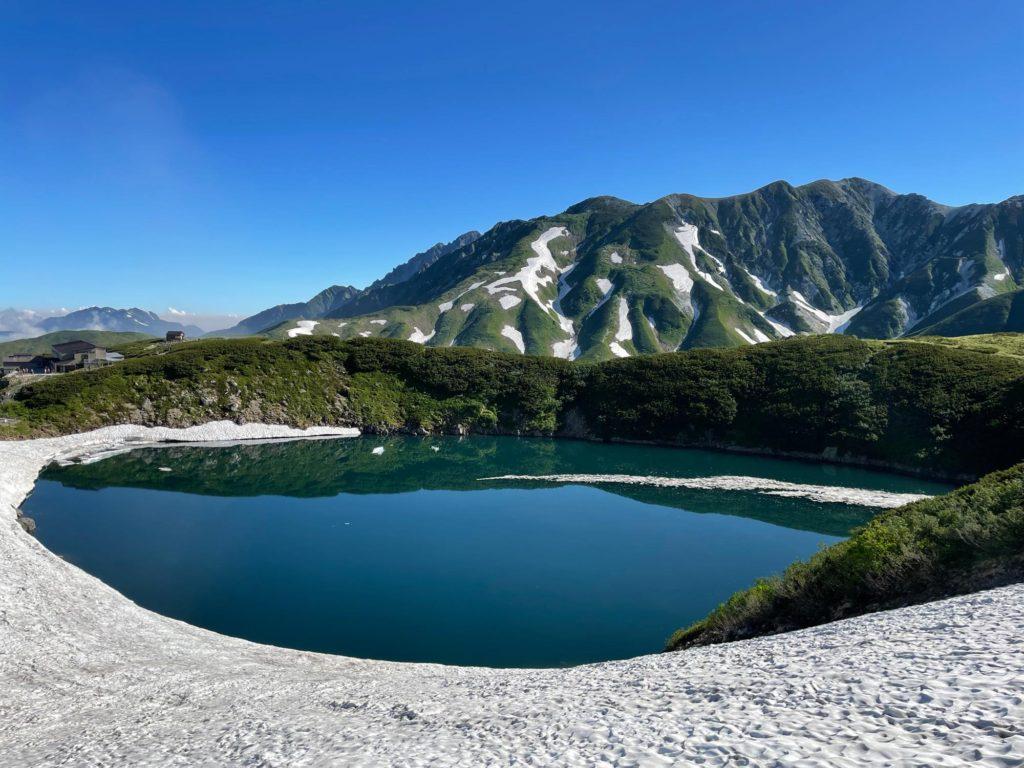 立山・室堂・ミクリガ池