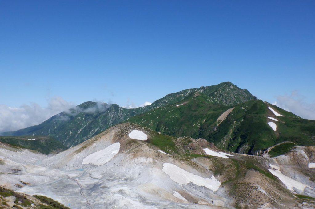 雷鳥沢キャンプ場テント泊-地獄谷