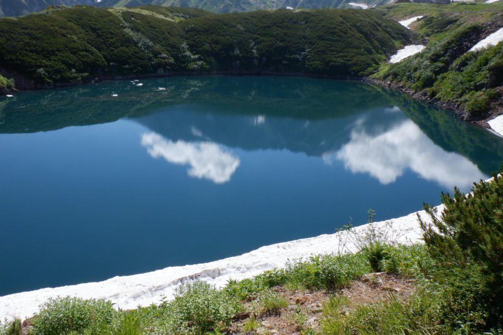 雷鳥沢キャンプ場テント泊-ミクリガ池