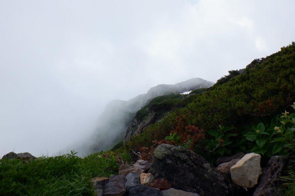 雷鳥沢キャンプ場テント泊-室堂山